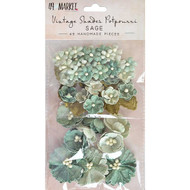 49 and Market Flowers - Vintage Shades Potpourri – Sage