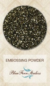 Blue Fern Studios - Embossing Powder - Black & Gold