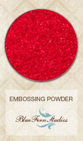 Blue Fern Studios - Embossing Powder - Pure Red
