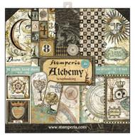 Stamperia - 12 x 12 Paper Pad - Alchemy