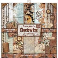 Stamperia - 12 x 12 Paper Pad - Clockwise