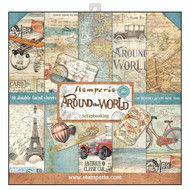 Stamperia - 12 x 12 Paper Pad - Around The World