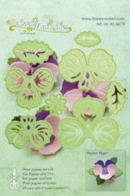 LeCrea Design Die - Multi Flower 003 Pansy