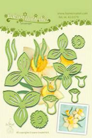 LeCrea Design Die - Multi Flower 007 Daffodil