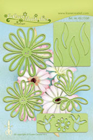 LeCrea Design Die - Multi Flower 009