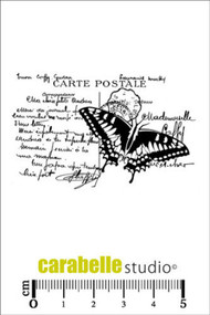 Carabelle Studio Cling Stamp Small - Collage Papillion (SMI0001)