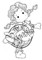 Magnolia Stamps TILDA LONGSTOCKING - Once Upon a Time