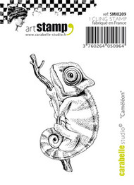Carabelle Studio Cling Stamp Small - Cameleon