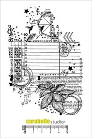 Carabelle Studio Cling Stamp A6 - Collage - Fig 36