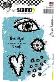 Carabelle Studio Cling Stamp A6 - Mirror Of The Soul