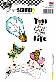 Carabelle Studio Cling Stamp A6 - You Are My Light