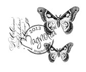 Magnolia Stamps BUTTERFLY KIT - Once Upon a Time