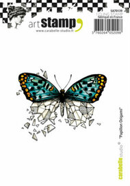 Carabelle Studio Cling Stamp A7 - Papillon Origami
