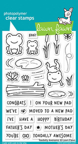Lawn Fawn Toadally Awesome Stamp Set (LF1581)