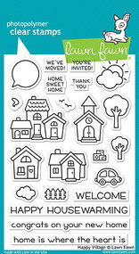 Lawn Fawn Happy Village Stamp Set (LF1591)