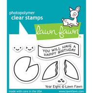 Lawn Fawn Year Eight Stamp Set (LF1605)