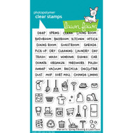 Lawn Fawn Plan On It Spring Cleaning Stamp Set (LF1607)