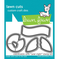 Lawn Fawn Year Eight Lawn Cut (LF1606)