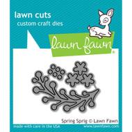 Lawn Fawn Spring Sprig Lawn Cut (LF1620)
