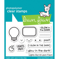 Lawn Fawn Lights Out Stamp Set (LF1631)