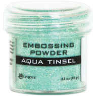 Ranger - Embossing Powder - Aqua Tinsel (EPJ 60413)
