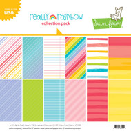 Lawn Fawn Really Rainbow Collection Paper Pack 12 x 12 (LF1656)