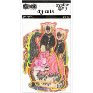 Dyan Reaveley's Dylusions Creative Die Cuts 6 - 24/pkg (DYE60147)