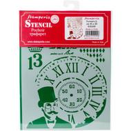 "Stamperia - Stencil - Steampunk Man 7.87""X5.91"" (KSD281)"