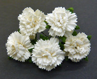 Wild Orchid Crafts Carnation - Off-White (20 pc)