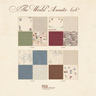 Pion Design - The World Awaits - 6 x 6 - Collection