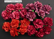 Wild Orchid Crafts Carnation - Mixed Red (20 pc)