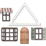 Sizzix Thinlits Dies By Tim Holtz - Village Fixer Upper