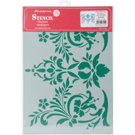 Stamperia - Stencil - Flowers & Leaves (KSG358)