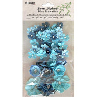 9 and Market - Floral Mixology - Blue Hawaiian