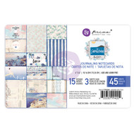 Prima Marketing - Santorini - 4 x 6 Journaling Cards