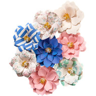 Prima Marketing - Santorini Mulberry Paper Flowers - Pygos