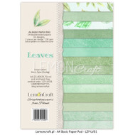 LemonCraft - Yesterday - A4 Basics Paper Collection Leaves 01