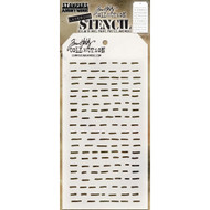 Tim Holtz Layering Stencil - Dashes - THS101