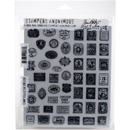 Tim Holtz Cling Rubber Stamp - Stamp Collector (CMS338)