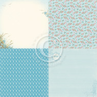 Pion Design - Seaside Stories - 6 x 6 Beach Blossom (PD17004)