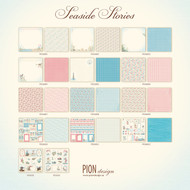 Pion Design - Seaside Stories - 12 X 12 Collection (PD16000)