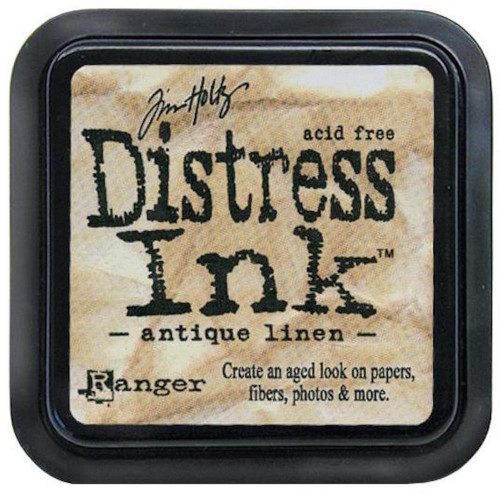 Distress Ink Pad - ANTIQUE LINEN