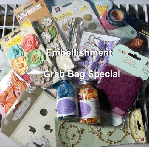Grab Bag Surprise Packet - Embellishments