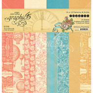 Graphic 45 - Imagine - 12 x 12 Patterns & Solids Pad