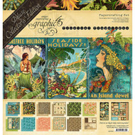 Graphic 45 - Deluxe Collectors Edition Tropical Travelogue
