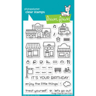Lawn Fawn Village Shops Stamp Set (LF1692)