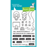 Lawn Fawn Screen Time Stamp Set (LF1684)