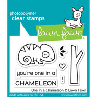 Lawn Fawn One In A Chameleon Stamp Set (LF1549)