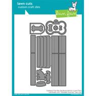 Lawn Fawn Scalloped Treat Box Dog House Lawn Cut (LF1704)