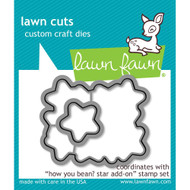 Lawn Fawn How You Bean? Stars Lawn Cut (LF1691)